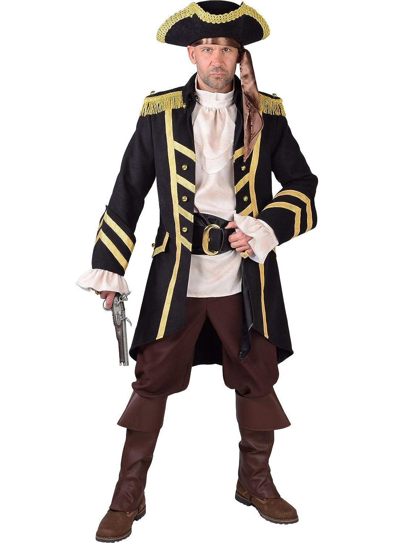 """tiendas minoristas Disfraz de Pirata Pirata Pirata Completa de Lujo, Aspecto de Lana, Med 42"""" en el Pecho  directo de fábrica"""