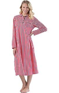 3fac9f789d PajamaGram Women s Long Fleece Nightgown - Womens Christmas Nightgown