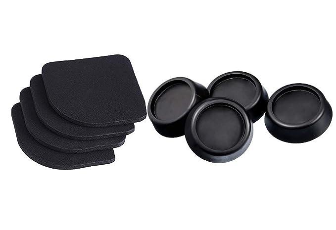 Noondl - Almohadillas antivibración para lavadora y rerefrigerador ...