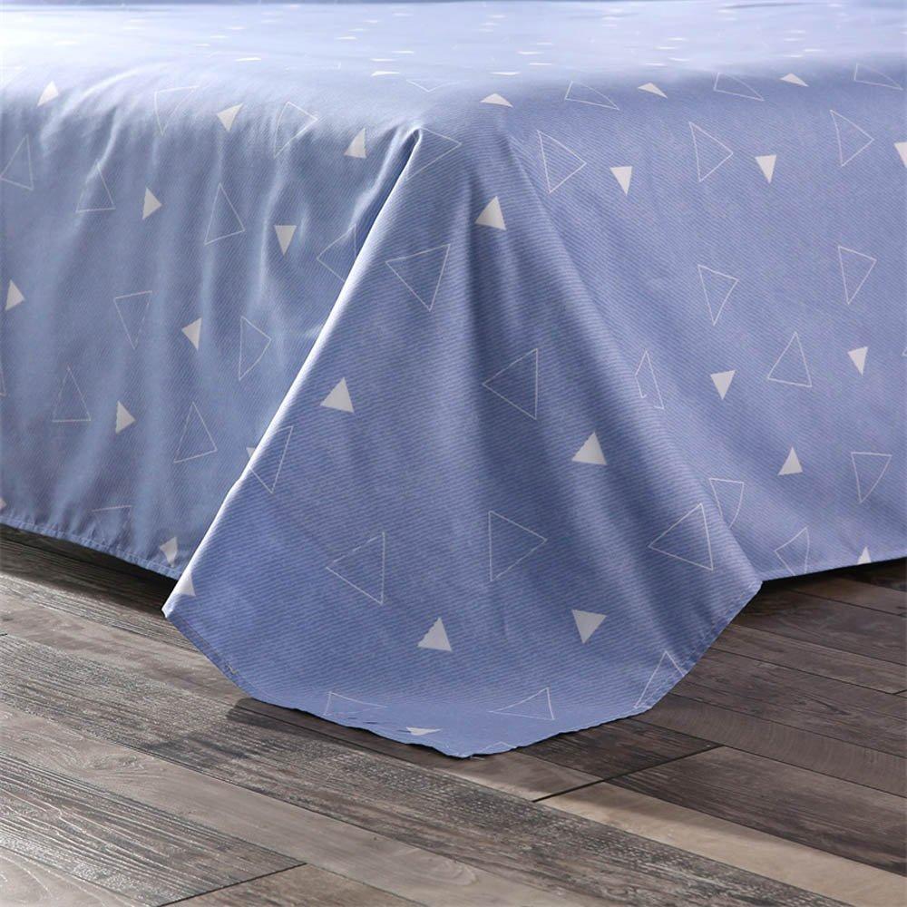 GladsBuy Rabbit Cap Duvet Cover Pillowcase Flat Sheet 4pcs Sheet Set Queen Soft Comfortable Durable Print Bedding Set DBL012