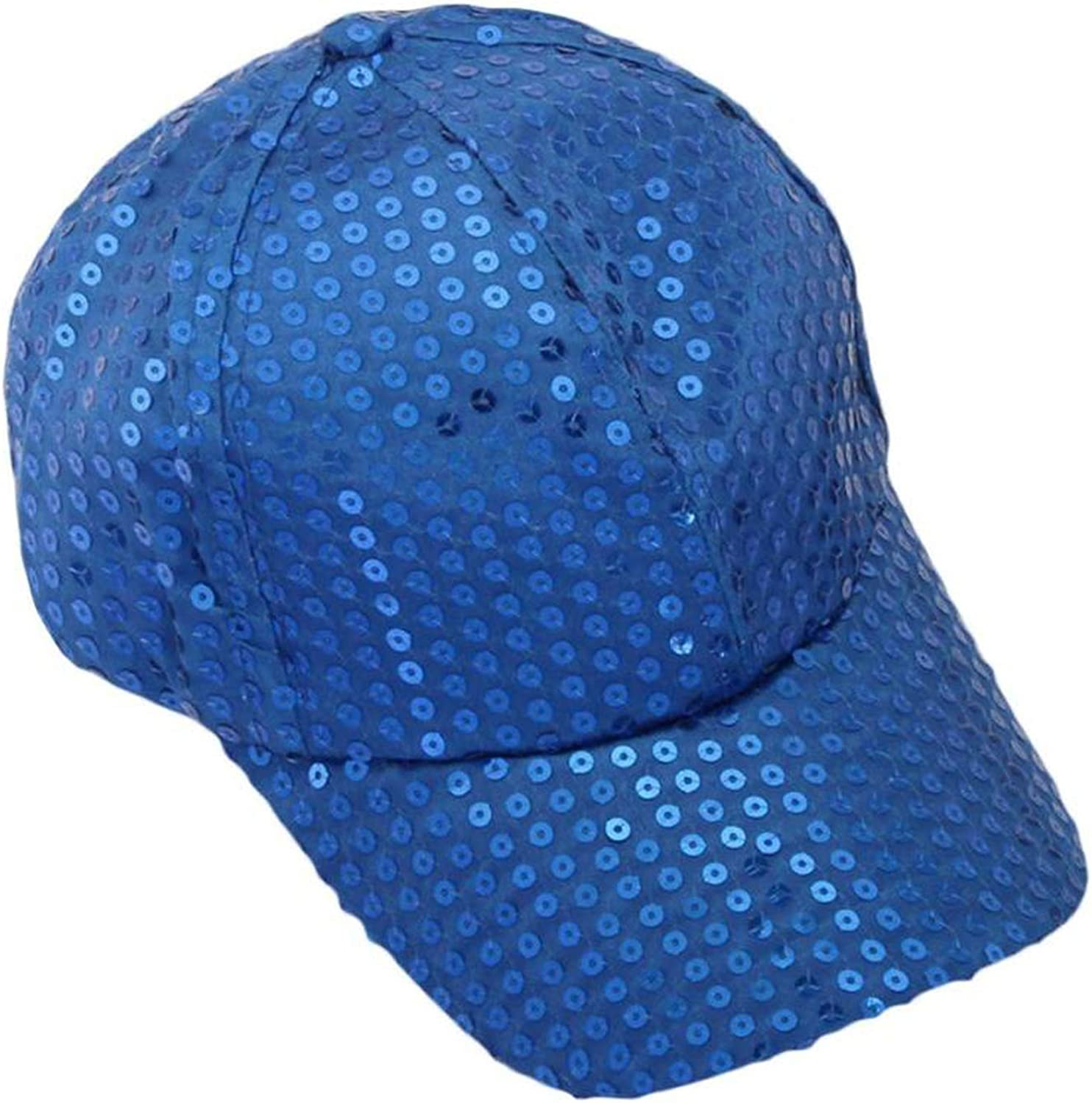 Wension Fashion Sequin Baseball Cap Summer Hats for Women Sombrero