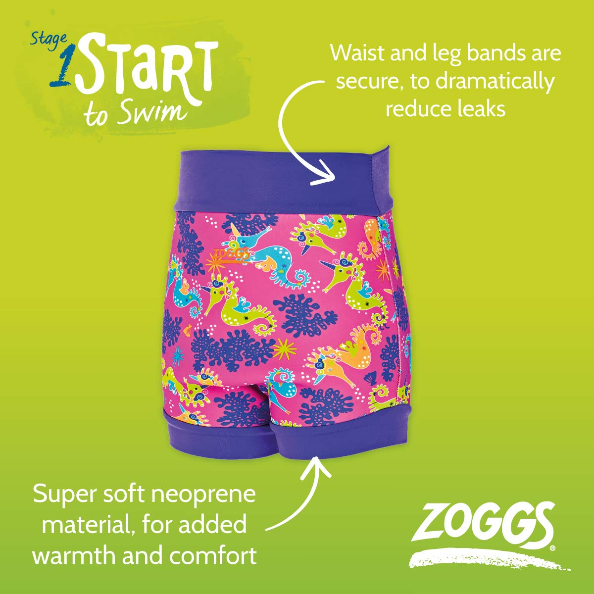 Image result for zoggs swim sure nappy boys and girls