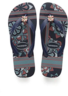 3a4cfd9421a9 Havaianas Flip Flops Women Slim Tropical  Amazon.co.uk  Shoes   Bags