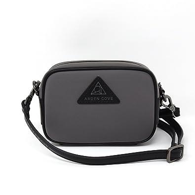 b58ff50b7b33 Anti-Theft Waterproof Mini Cross-Body Bag with Adjustable Faux ...