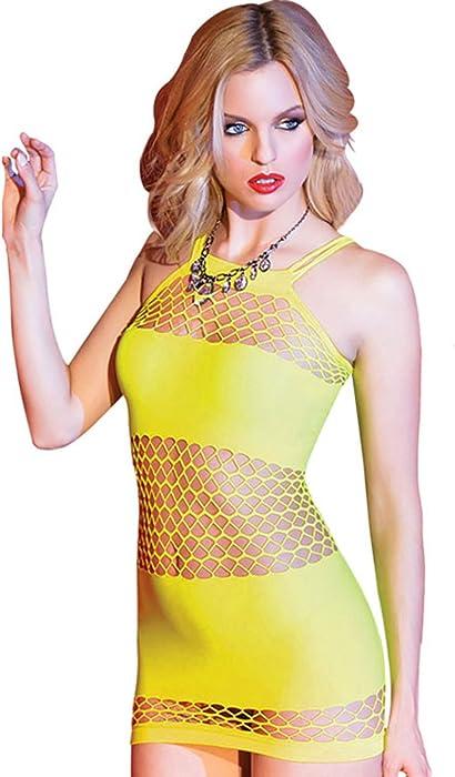 e8014231507f Amazon.com  Zzmart Women Mesh Chemise Lingerie Dress