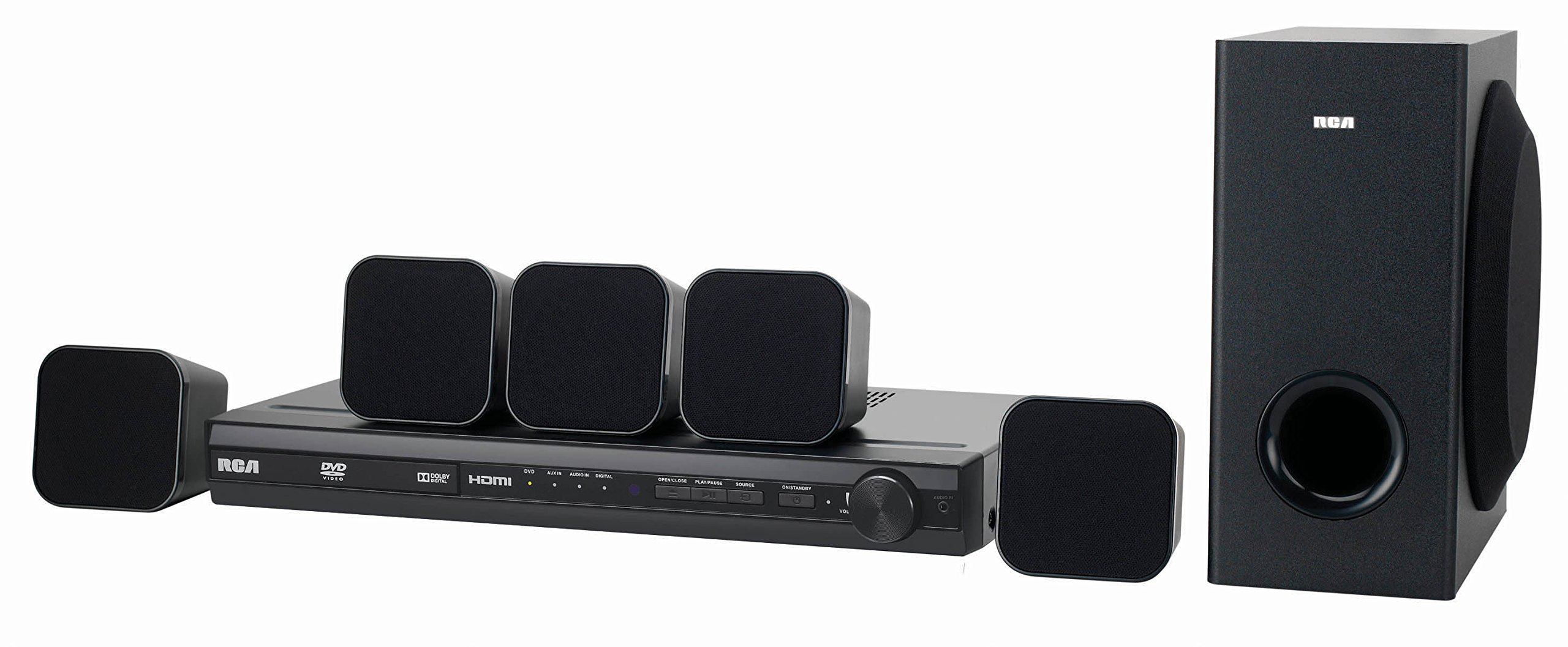 Rca Dvd Home Theater System with Hdmi 1080p Rtd3276h by RCA