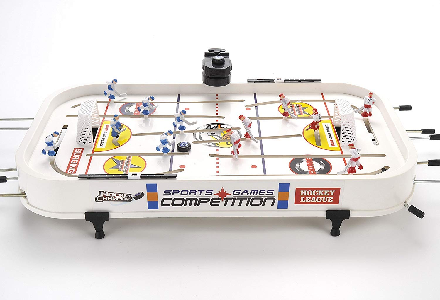 ManCave Games 20'' All Star Rod Hockey Game. Fast paced Head-to-Head Table Hockey Action! by ManCave Games