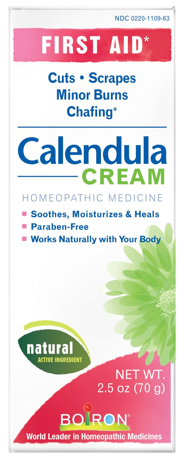 Boiron First Aid Calendula Cream 2.50 oz (Pack of 2)