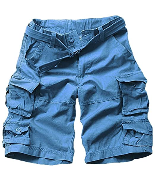 d2caefc4829 FOURSTEEDS Pantalones Cortos de Algodón para Mujer con Ajuste Suelto ...