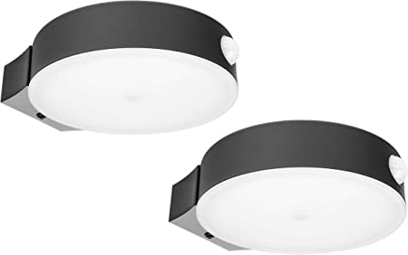 1//PACK 26W LED Wall Pack Light 4000K Waterproof Outdoor With IR sensor