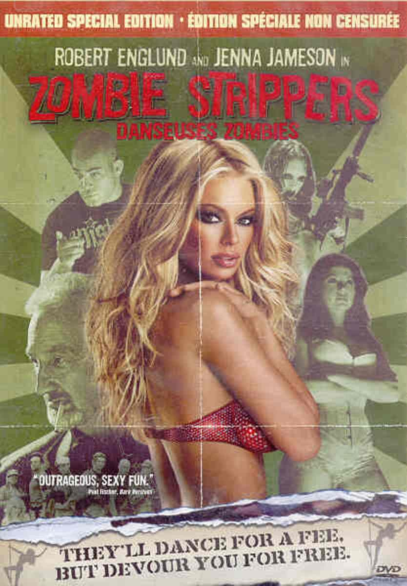 Zombie Strippers Unrated, Special Edition Bilingual: Amazon.co.uk: DVD &  Blu-ray