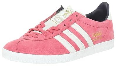adidas Womens Shoes Gazelle OG Trainers Retro Pink Originals