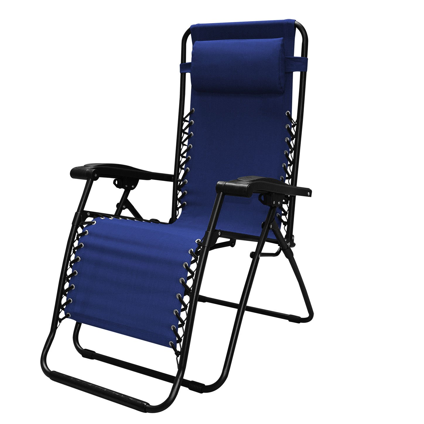 Caravan Sports Infinity Zero Gravity Chair - 2 Pack, Blue by Caravan Canopy (Image #2)