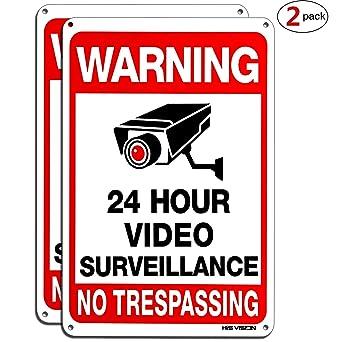 Amazon.com: Señal de vigilancia de vídeo HISVISION 2 ...