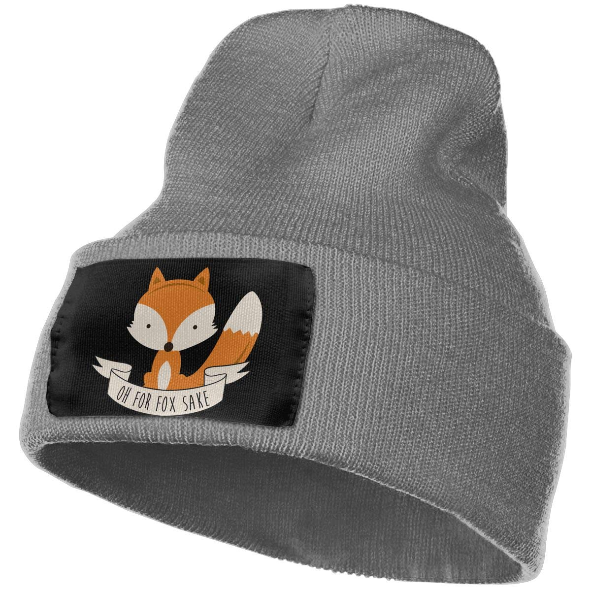OH Fox Sake Warm Winter Hat Knit Beanie Skull Cap Cuff Beanie Hat Winter Hats for Men /& Women