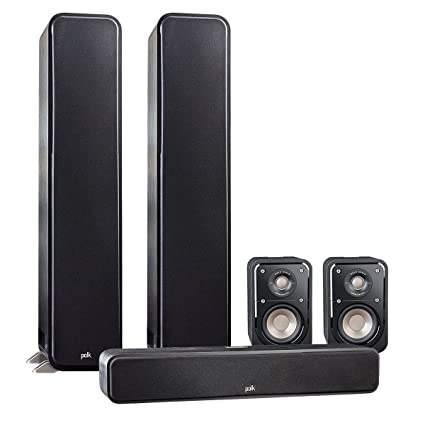 Polk Audio Signature 50 System With 2 S55 Tower Speaker 1 S35 Center