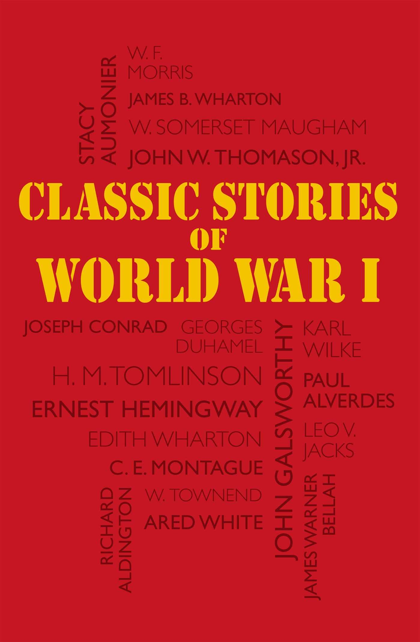 Classic Stories of World War I (Word Cloud Classics)