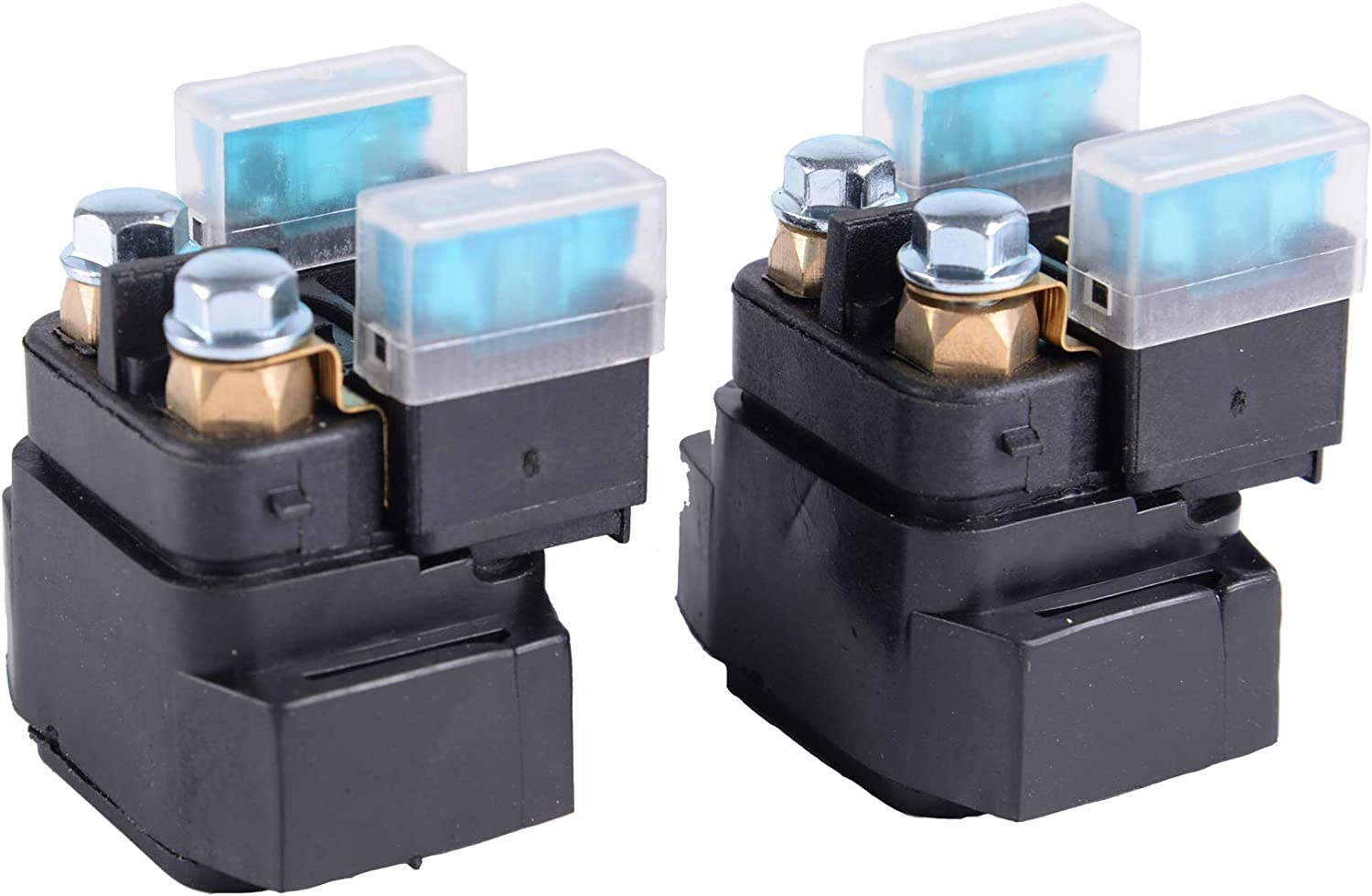 2 Pack Motorcycle Starter Relay Solenoid For Yamaha 600 YZF600 YX600 YZF-R6 YFZR6 1995-2007 2002