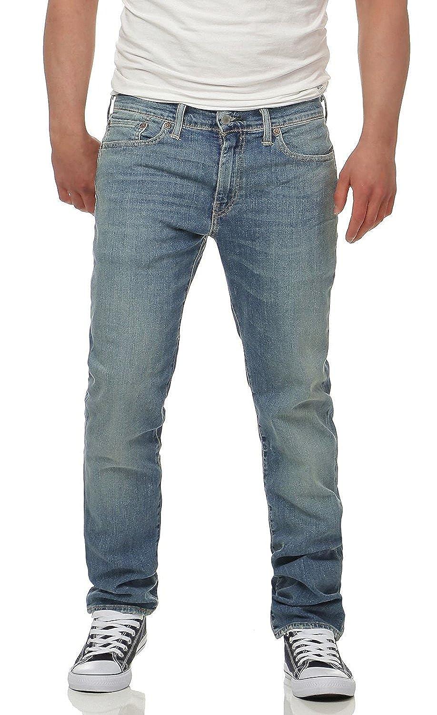 TALLA 29W / 32L. Levi's Hombre 511 Slim Fit Pixies Jeans, Azul