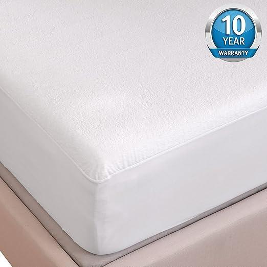 Funda protectora para la cama de Tofern, de lujo 100% impermeable ...