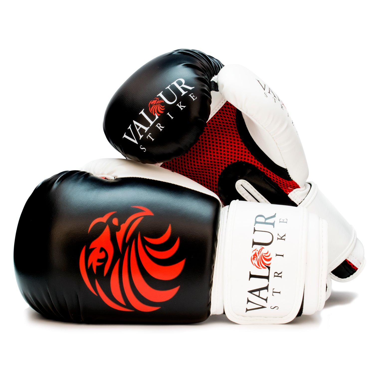 Valour Strike Boxing Gloves Sparring ☆ Pro 4oz - 16oz Punch Bag Fight MMA  Muay Thai Grappling Fight Mitts Martial Arts Training Kickboxing Punching  Glove ... 14682bb87ff2d