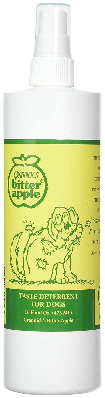 Grannick's Bitter Apple for Dogs Spray Bottle, 16 Ounces (2-pack) Grannick S Bitter Apple GB1116AT-2
