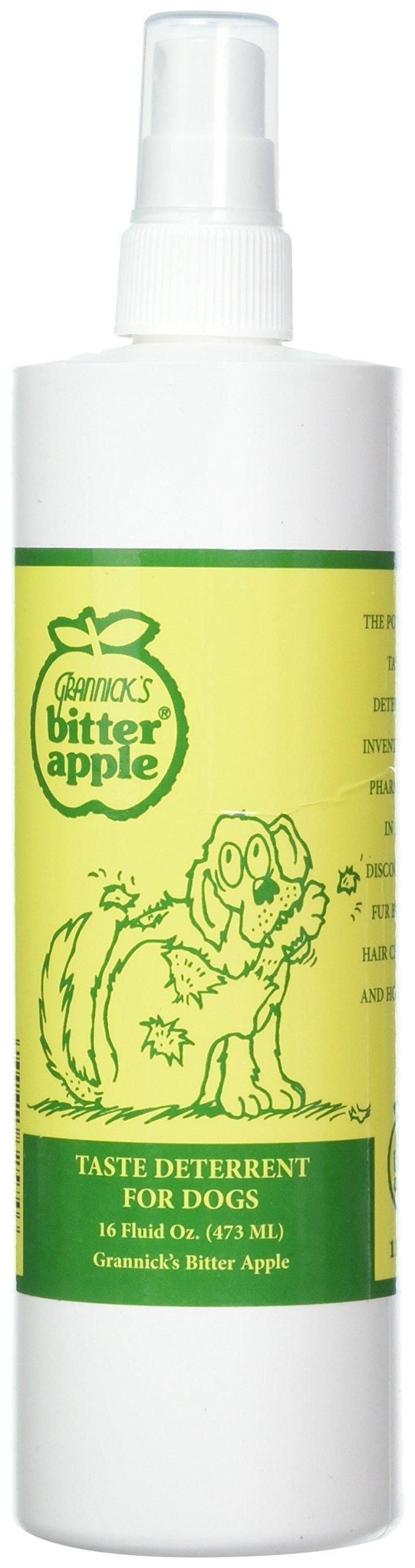 Grannick's Bitter Apple for Dogs Spray Bottle, 16 Ounces (2-Pack) by Grannick's