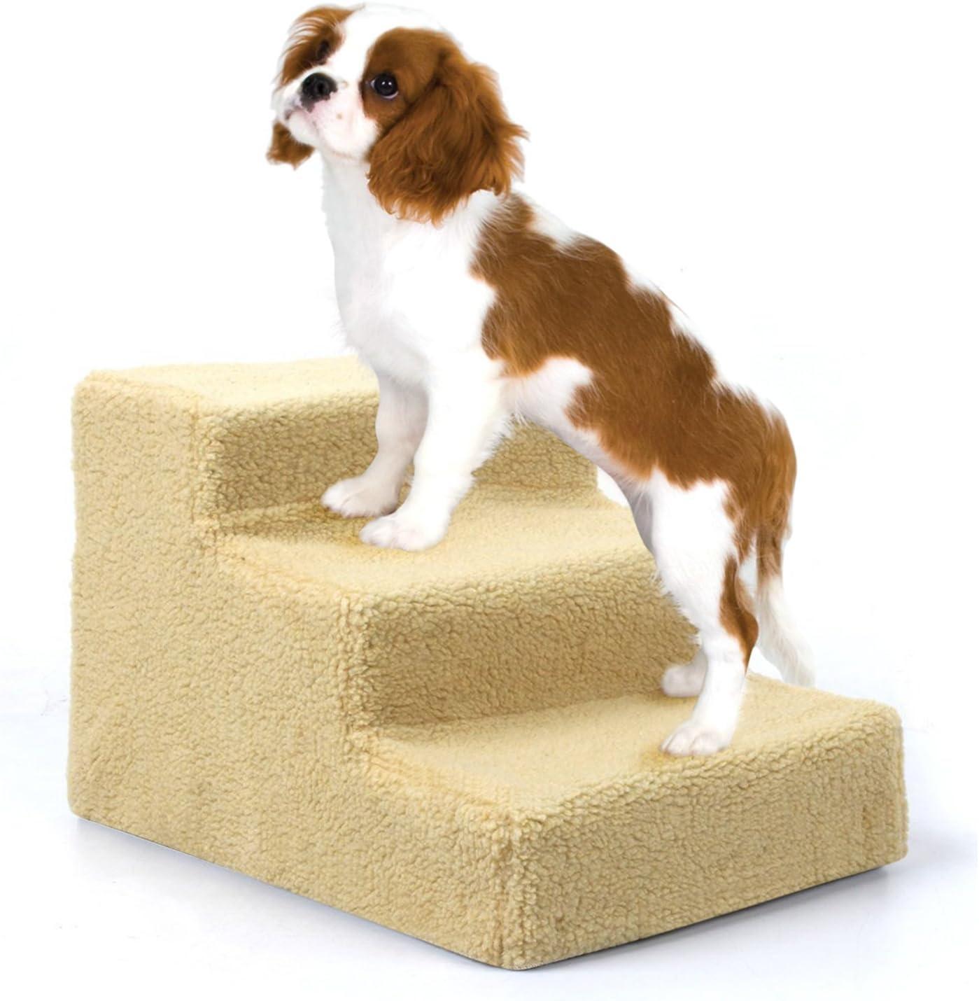 amzdeal – Easy Step Perros Escaleras, 45 x 35 x 30 cm, color beige ...