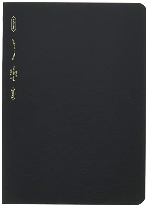 STALOGY 018 Editors Series 365 days notebook (A6//Black) S4103