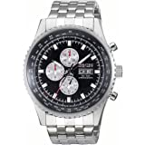 Nautec No Limit - TO QZ/STSTSTBK - Montre Homme - Quartz Chronographe - Chronomètre - Bracelet Acier Inoxydable Argent