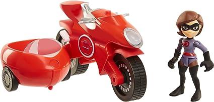 Incredibles 2 Elastigirl with Elasticycle Toy