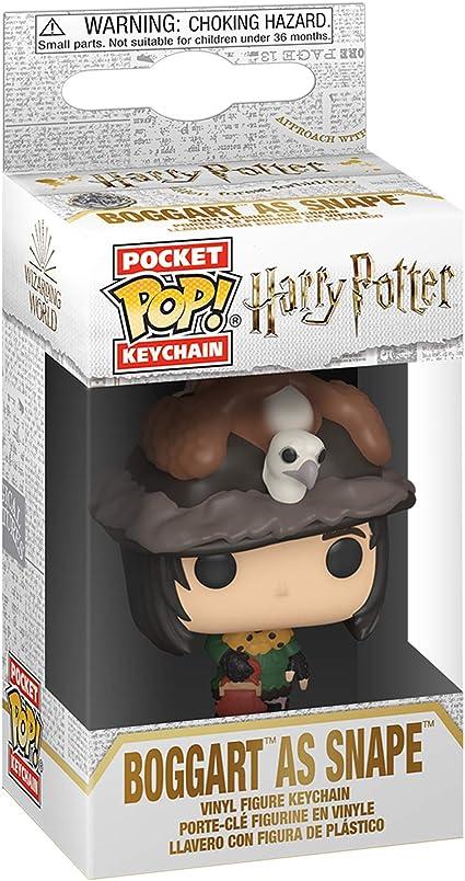 0889698480574 Funko Figurine Harry Potter Snape As Boggart Pocket Pop 4cm