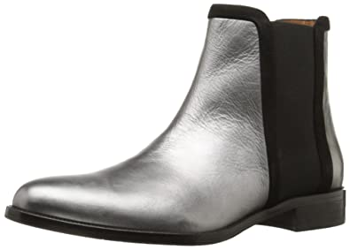Aquatalia Women's Yasmine Metallic Naplak Boot