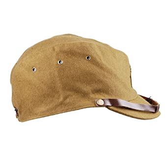 7e2f5170af2 Amazon.com  Heerpoint Reproduction WWII WW2 Japanese army IJA Officer Field Hat  Cap L  Clothing