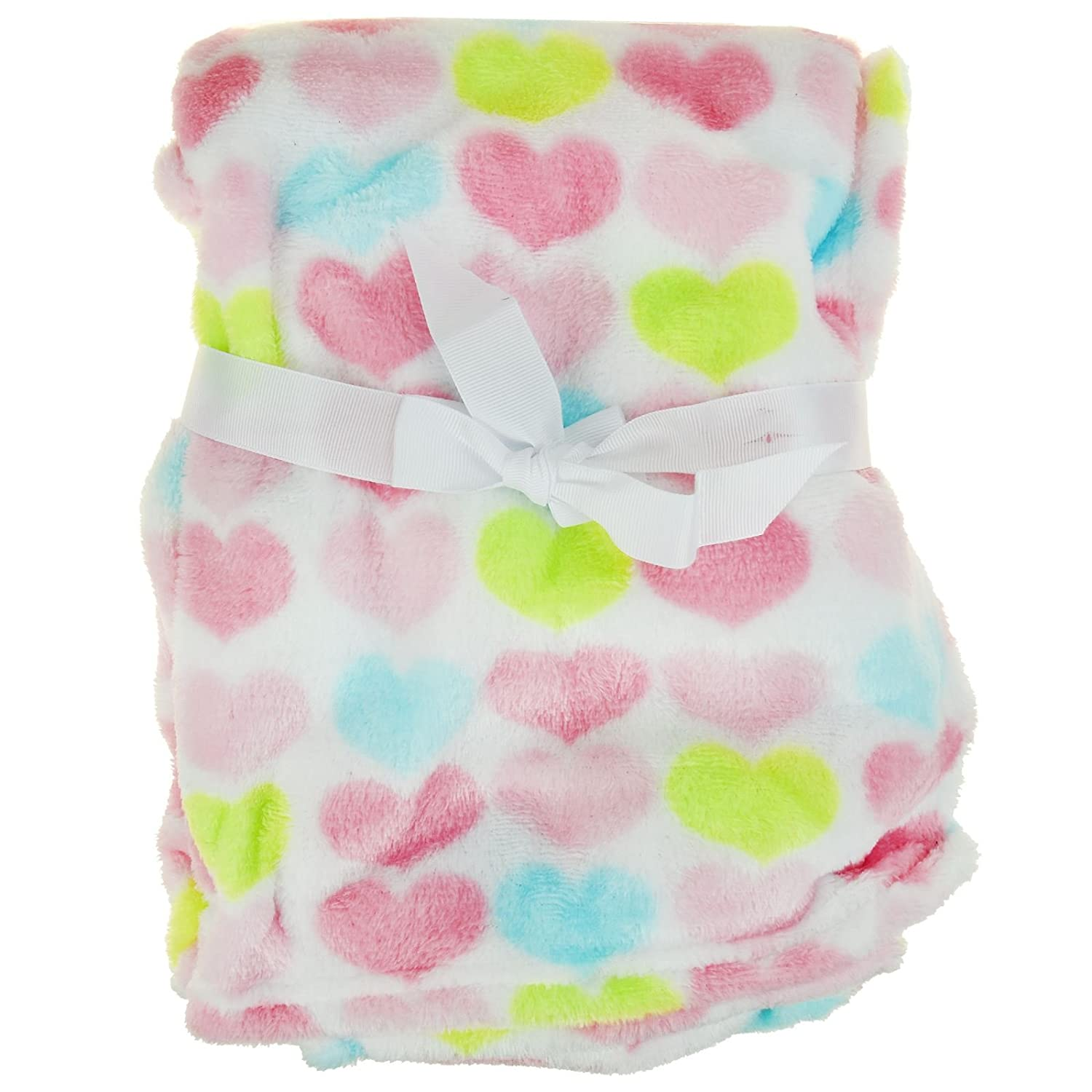 Newborn Baby Soft Fleece Blanket Pram Moses Basket Crib Girl Boy Unisex 0 Month