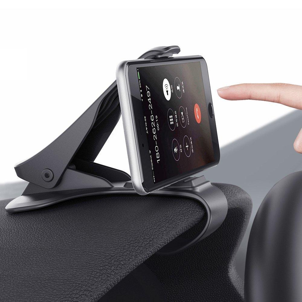 車載電話ホルダー ダッシュボード携帯電話マウント 携帯電話クリップスタンド Samsung Galaxy S8/S7/S6/S5およびその他のスマートフォン用 (3.0-6.5インチ)   B07QH98956