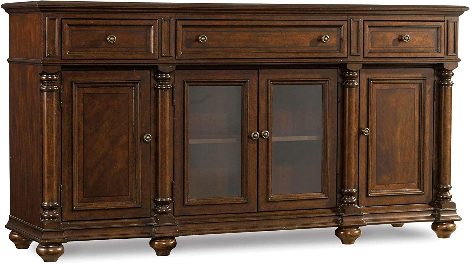 Hooker Furniture Leesburg Buffet in Mahogany