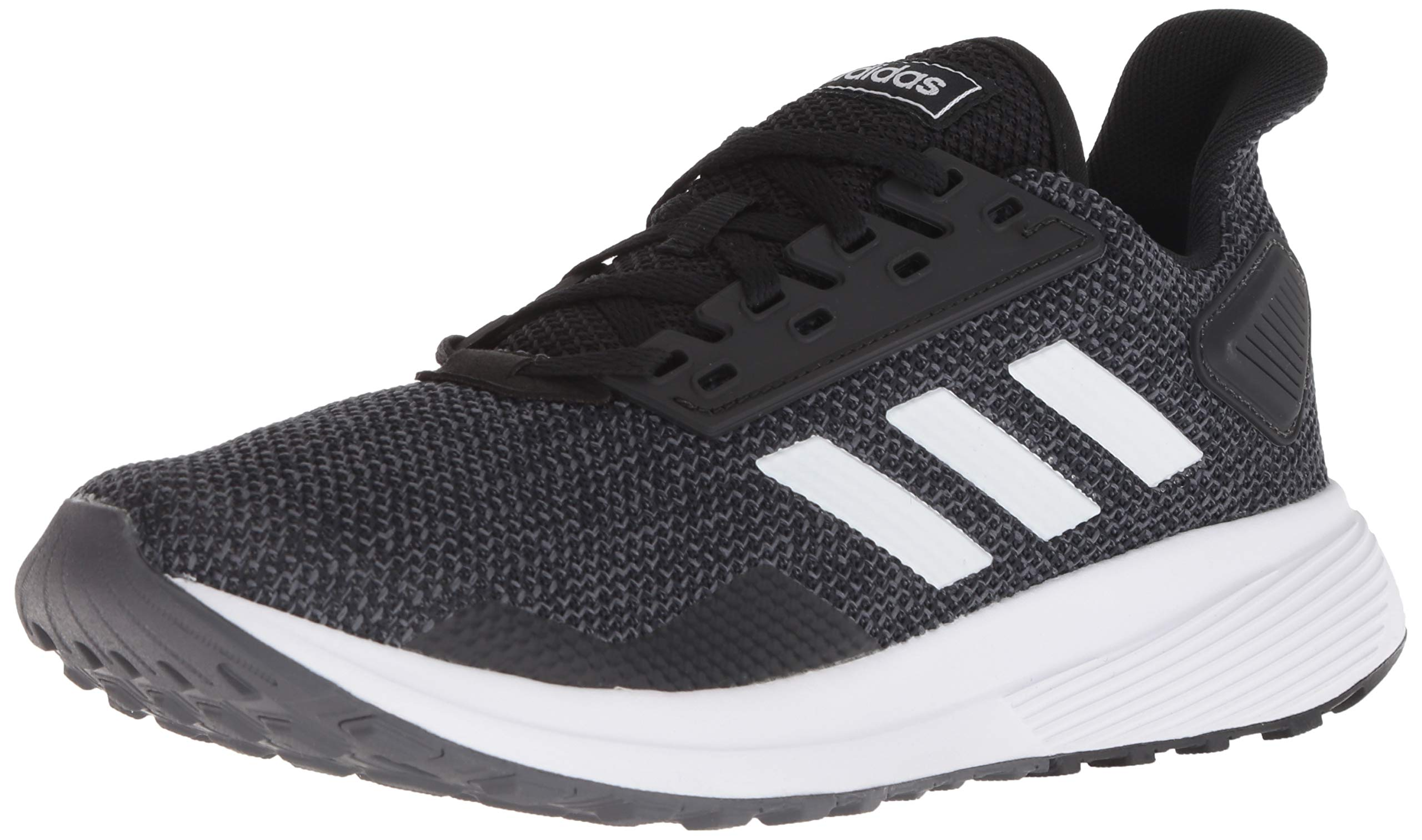 adidas Women's Duramo 9 Running Shoe, Black/White/Grey, 7 M US by adidas