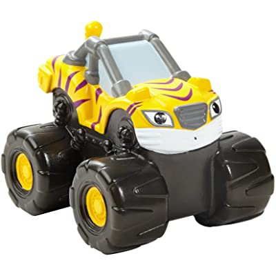 Fisher-Price Nickelodeon Blaze & the Monster Machines, Bath Squirter Stripes Vehicle: Toys & Games [5Bkhe2004201]