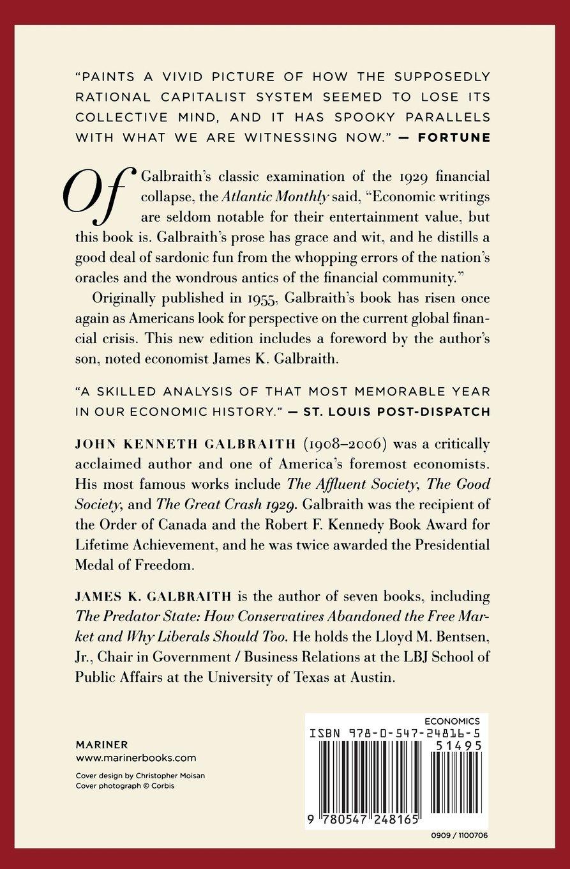 the great crash of 1929 galbraith pdf