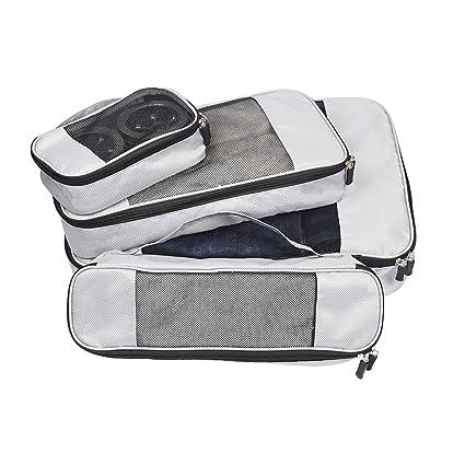 Bolsas de equipaje Organizador para Maleta con mango, 4-en-1 ...