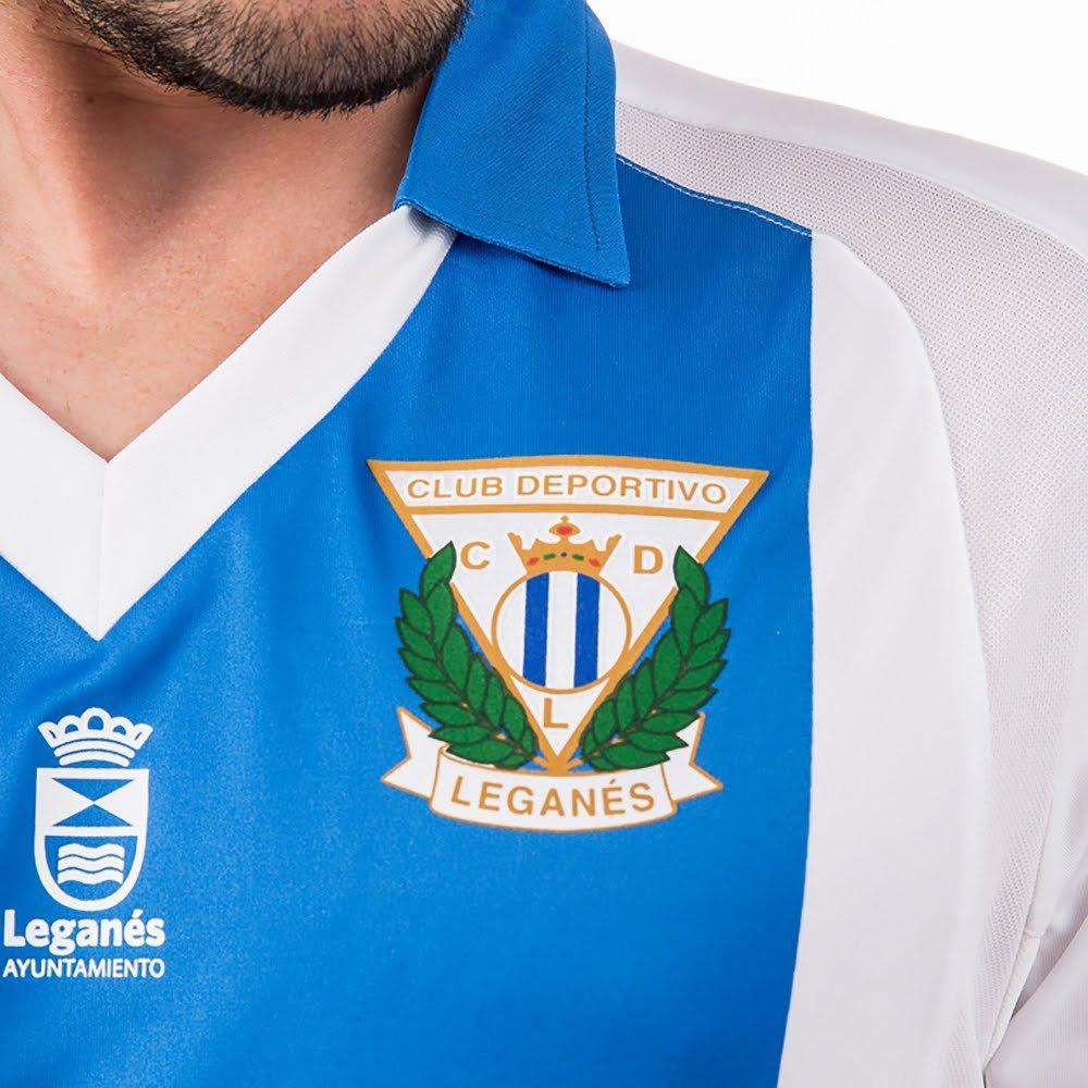 Joma Camiseta CD Leganés Primera Equipación 2017-2018 Blanco-Azul: Amazon.es: Deportes y aire libre