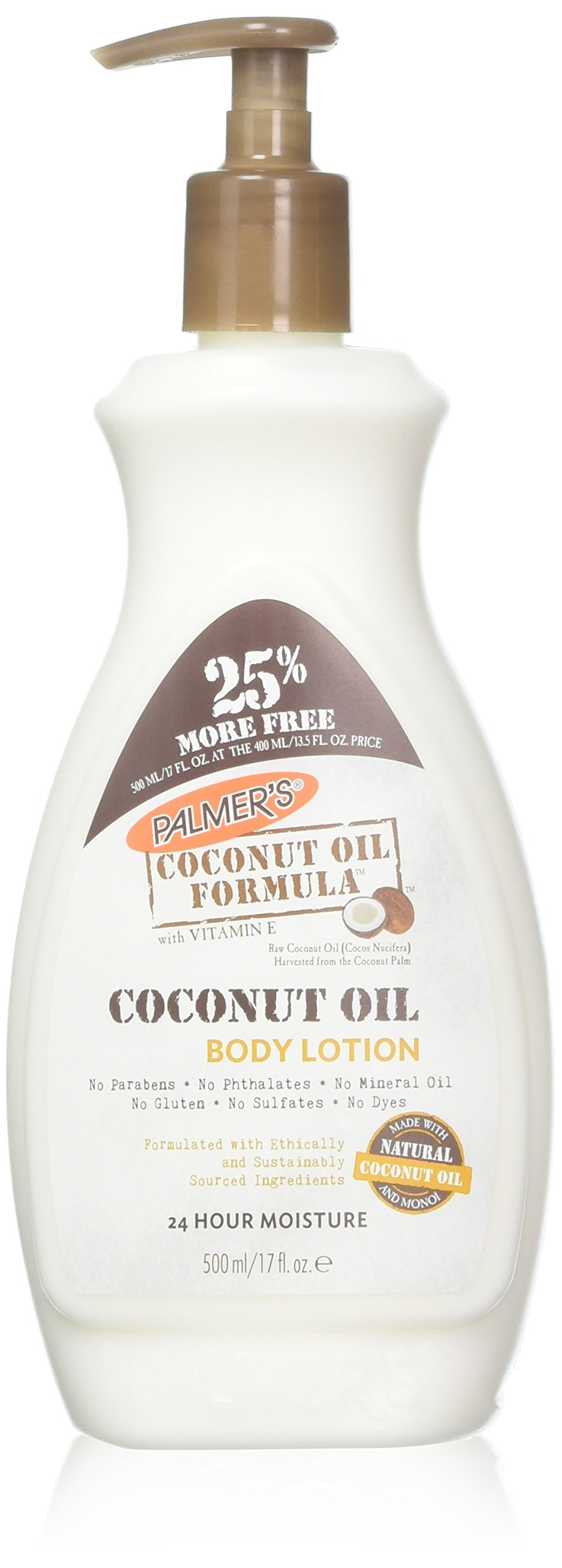 Palmers Coconut Oil Body Lotion 17 Ounce (500ml)