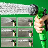 Siddhi Collection The Amazing Expanding Hose Pipe Special for Car, Bike Wash, Planting and Cleaning Floor (Multicolour, Medium)