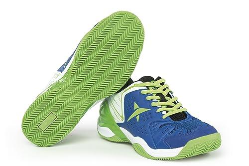 Drop Shot Vantage Tech - Zapatillas Deportivas para Hombre, Color Azul/Verde, Talla 40: Amazon.es: Zapatos y complementos