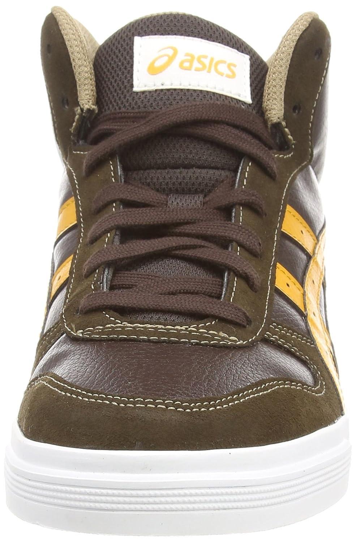 Asics Aaron MT, Sneakers Basses Mixte Adulte - Marron (Dark Brown/Tan  6271), 37.5 EU: Amazon.fr: Chaussures et Sacs