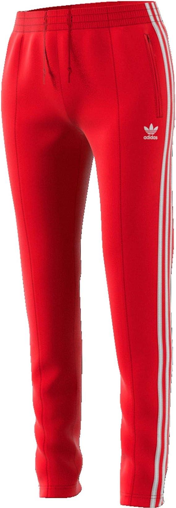 adidas Superstar Tp Pantalon Femme Rouge