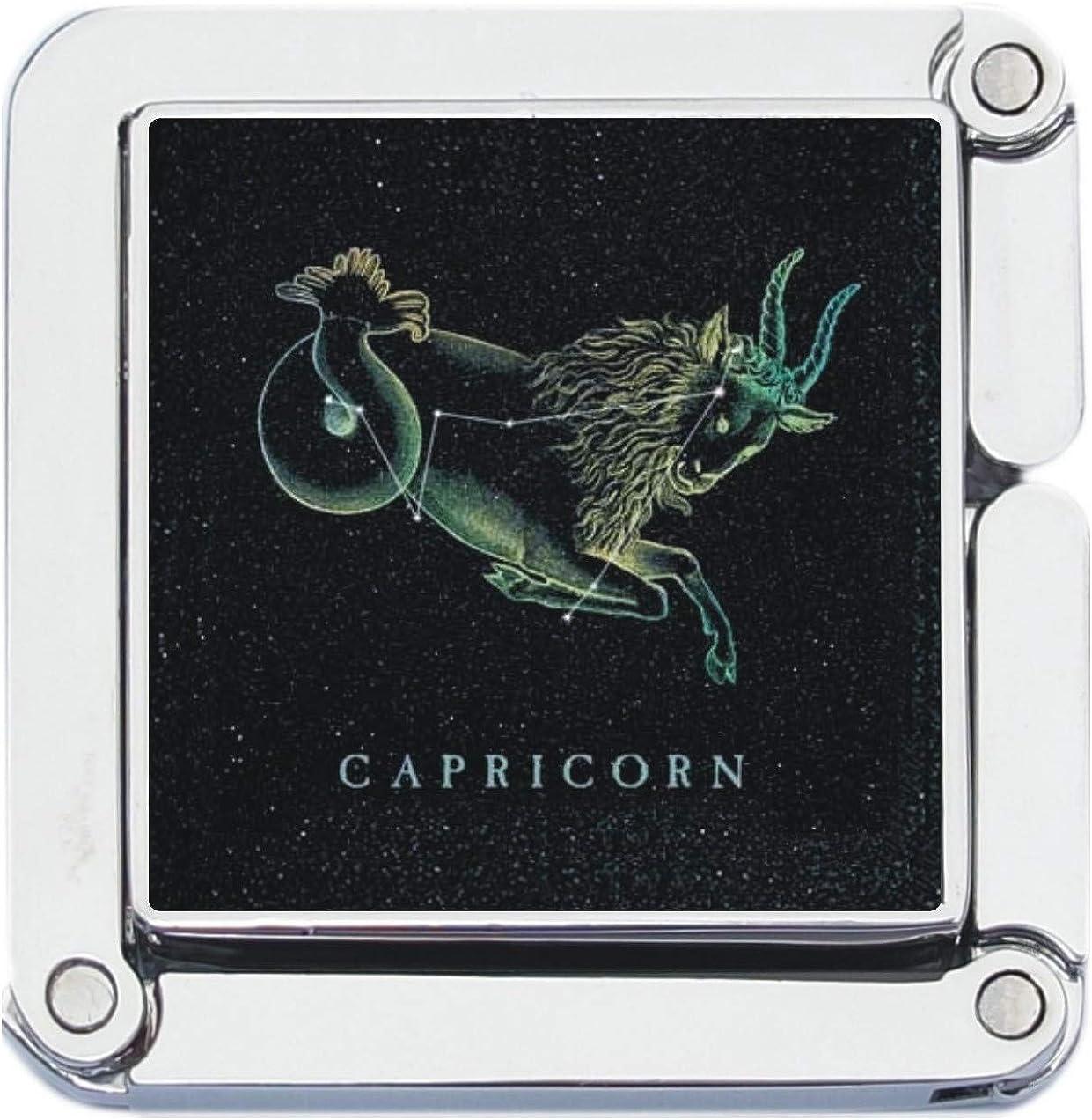 Square Capricorn Goat Zodiac Stars Purse Hanger