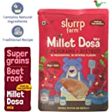 Slurrp Farm Millet Dosa Mix, Supergrains and Beetroot, 150g