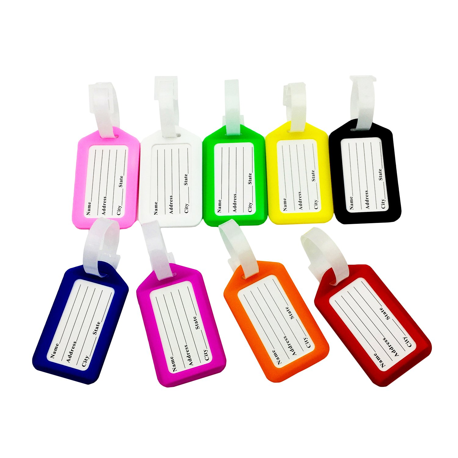 cheap mziart cruise luggage tags suitcase bag labels business card